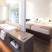 Bedroom in Alcala de Henares Parador hotel