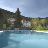 swimming pool - Parador of Cazorla
