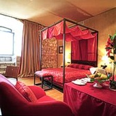bedroom at Parador de Alarcon