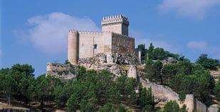 Spain - La Mancha - Levante. - Parador de Alarcon - one of the Spanish Paradors Paradores