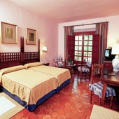 Parador Albacete bedroom