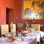 Restaurant at Parador Alcaniz - Spain