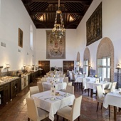 Restaurant at Parador Almagro