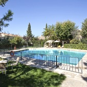 Swimming pool at Parador Almagro - one of the Spanish Paradors Paradores