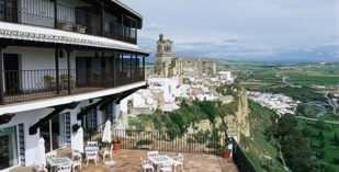 Spain - Jerez - Parador de Arcos de la Frontera - one of the Spanish Paradors Paradores