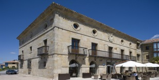 Spain - North Spain - Parador de Argomaniz - one of the Spanish Paradors Paradores