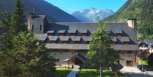 Spain - Catalan Pyrenees - Parador de Arties - one of the Spanish Paradors Paradores