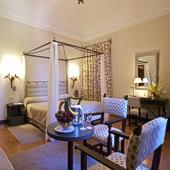 Bedroom at Parador of Avila