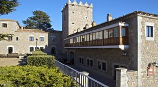 Spain - Near Madrid - Parador de Avila - one of the Spanish Paradors Paradores