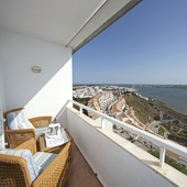 View from Parador Ayamonte - Spain