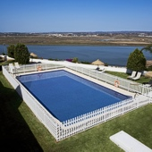 Swimming pool at Parador de Ayamonte