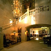 Interior of the Baiona Parador - Spain