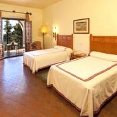 bedroom in Parador of Benavente