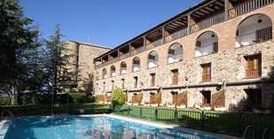 Spain - Zamora - Parador de Benavente - one of the Spanish Paradors Paradores