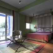 bedroom at Parador of Benicarlo