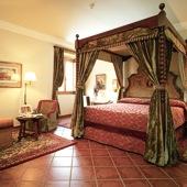 bedroom at Parador de Santo Domingo de Bernardo de Fresneda - accommodation in Spain - Paradores