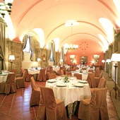 Restaurant Parador de Santo Domingo de Bernardo de Fresneda - one of the Spanish Paradors Paradores
