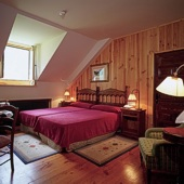 Bedroom at Parador Bielsa