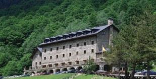 Spain - Pyrenees - Parador de Bielsa - one of the Spanish Paradors Paradores