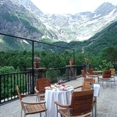 View from Parador of Bielsa - Spain