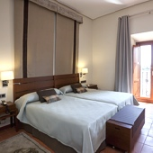 Parador Caceres bedroom