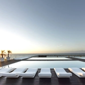Swimming pool at Parador Cadiz