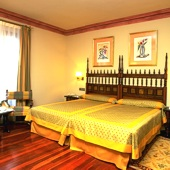 bedroom at Parador of Calahorra
