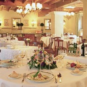 Restaurant of Parador Cambados - Spain