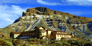 Atlantic Island - Tenerife - Parador de Canadas del Teide - one of the Spanish Paradors Paradores