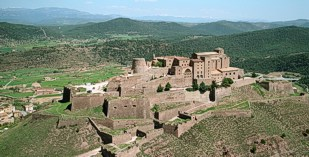 Spain - Catalonia - Parador de Cardona - one of the Spanish Paradors Paradores