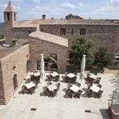 Parador Cardona - terrace