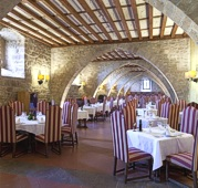 Restaurant of Cardona Parador