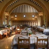 Restaurant of Carmona Parador