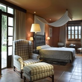 Bedroom in Parador of Cazorla