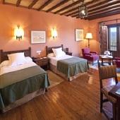 Bedroom at Parador of Cervera de Pisuerga