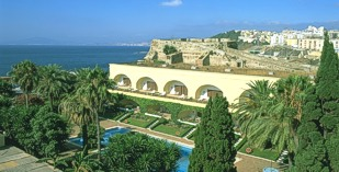 Spain - North Africa - Parador de Ceuta - one of the Spanish Paradors Paradores