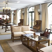 Living room at Parador de Cruz de Tejeda - Spanish Paradors Paradores