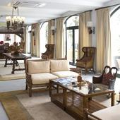 Living room at Parador de Cruz de Tejeda - Spanish Paradors Paradores