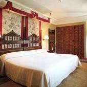 Parador de Cuenca bedroom