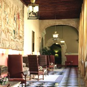 Interior at Cuenca Parador