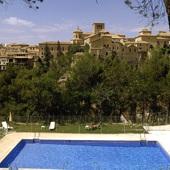 Swimming pool at Parador de Cuenca