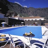 swimming pool at Parador de El Hierro