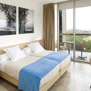 Bedroom in Parador of El Saler