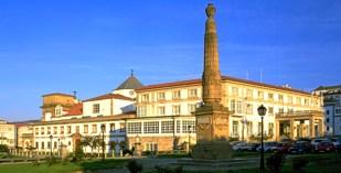 Spain - Galicia - Parador de Ferrol - one of the Spanish Paradors Paradores