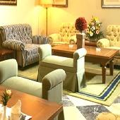Lounge at Parador de Ferrol - Spain