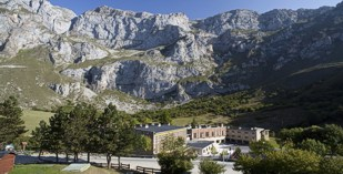 Spain - Picos de Europa - Parador de Fuente De - one of the Spanish Paradors Paradores