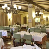 restaurant at Parador Fuente De