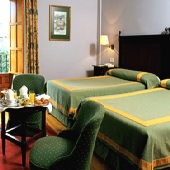 bedroom in Parador de Gijon