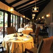 restaurant at Parador of Gijon
