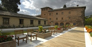 Spain - Alhambra - Parador de Granada - one of the Spanish Paradors Paradores